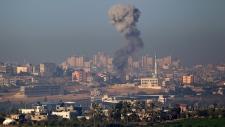 Gaza strike Israel mideast blast