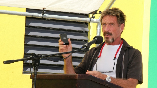 John McAfee denies killing neighbour in Belize