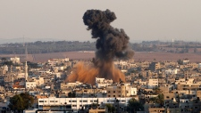 Israeli attack on Gaza City