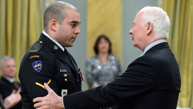 Canada's second highest award for bravery