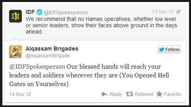 Israel, Hamas social media war