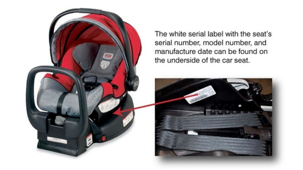 Evenflo car seat recall model numbers