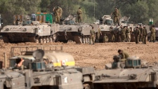 Israel tanks Gaza invasion