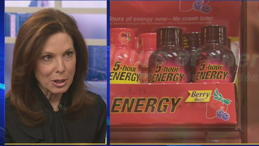 Dr. Marla Shapiro discussed a probe by the U.S. FDA of 5-hour Energy drink on CTV's Canada AM on Nov. 16, 2012.