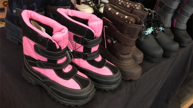 More than Shoes program in Winnipeg