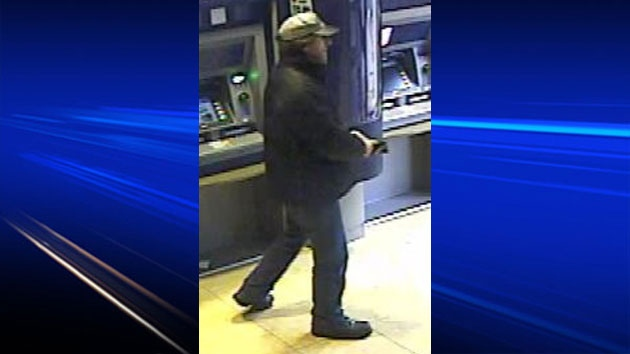 Police have released a new photo of Roger Colepaugh, taken from surveillance video at a banking machine at the corner of Queen and Carleton streets in Fredericton.