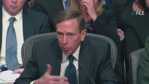CTV News Channel: Petraeus testifies on attack