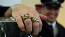 Grey Cup arrives in Toronto