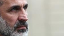 Mouaz al-Khatib in Paris on Nov. 17, 2012.