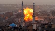 Israeli airstrikes bombard Gaza