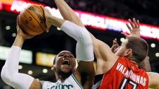 Raptors lose to Celtics