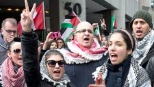 Anti-Israel protests in Ottawa