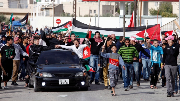 Fuel hike protests in Jordan