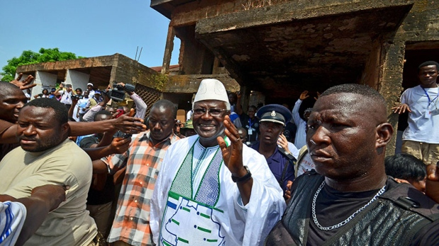 Peaceful voting in Sierra Leone's third election