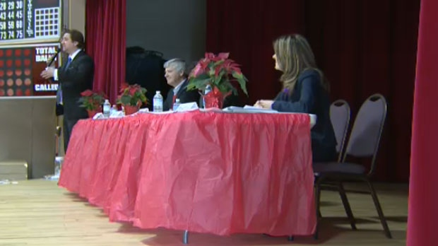The Calgary Centre candidates representing the PC, Liberal, NDP and Green party took part in an East Village forum