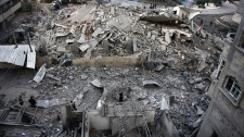 Hamas building destroyed
