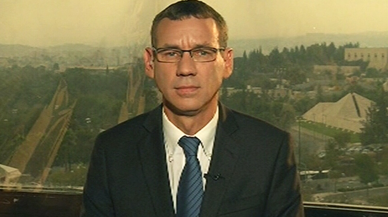 Israeli Prime Minister Benjamin Netanyahu's spokesperson Mark Regev speaks to CTV's Question Period on Sunday, Nov. 18, 2012.