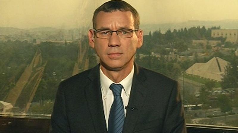 Israeli Prime Minister Benjamin Netanyahu's spokesperson Mark Regev speaks to CTV's Question Period on Sunday, Nov. 18, 2012.