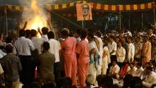 Large funeral held for Hindu hardline leader