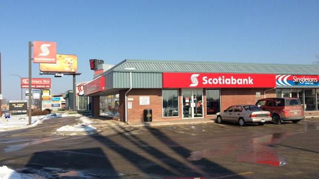 Scotiabank on Killarney robbed