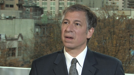 Immigration lawyer and policy analyst Richard Kurland told CTV News the leak of a CBSA security document to CNN could be problematic for Canada's security. Nov. 8, 2010. (CTV)