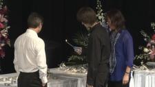 Memorial held for Amanda Todd