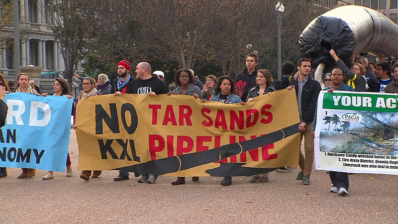 Keystone Pipeline Protest, White House