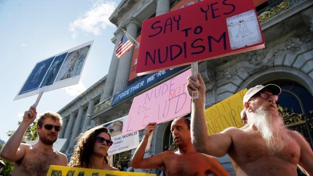 San Francisco, nudity ban