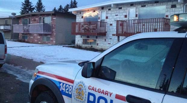 Police are investigating after a woman was found dead inside a home in Forest Lawn on Monday morning.
