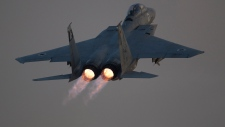 Israel blast attack Gaza F-15 air strike