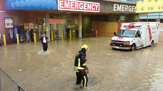Flooding On Vancouver Island