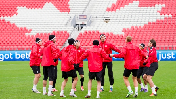 Canada's national men's soccer team, Oct. 10, 2012
