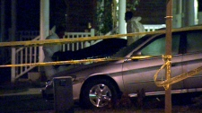 A woman's body is removed from the home in Markham after a home invasion late Monday, Nov. 8, 2010.