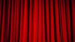 Curtains closed in this undated theatre file photo.