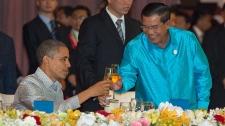 U.S. President Barack Obama in Cambodia
