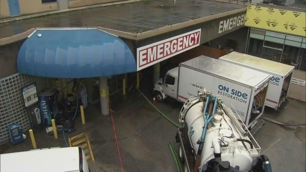 CTV BC: Flood at Surrey Memorial Hospital