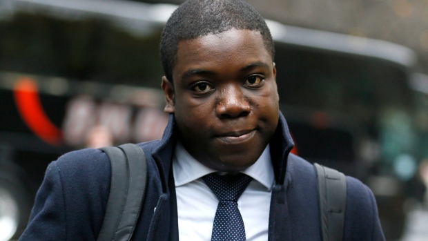 Kweku Adoboli in London, Nov. 15, 2012.