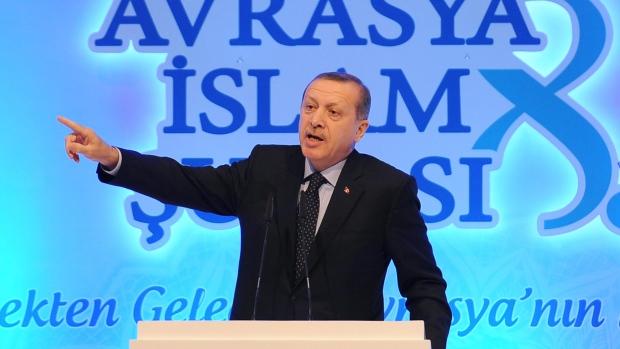 Erdogan in Istanbul, Turkey, Nov. 19, 2012.