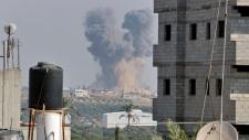 Gaza blast Israel mideast
