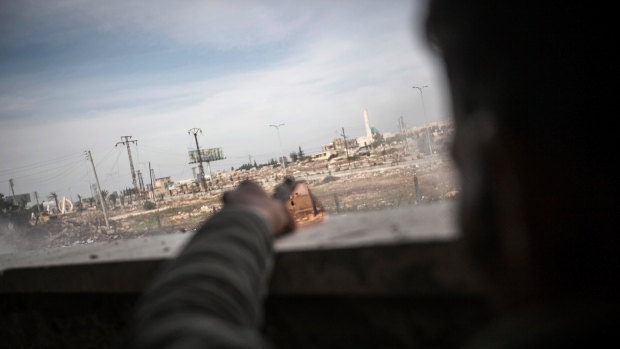 Outskirts of Aleppo, Syria on Nov. 17, 2012.