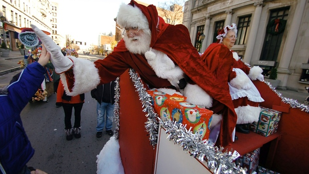 Kingston man arrested at Santa Claus parade