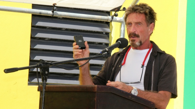 Software founder John McAfee suspect in murder