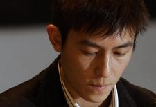 Hong Kong actor Edison Chen speaks during a news conference in Hong Kong Thursday, Feb. 21, 2008. (AP Photo / Kin Cheung)