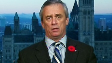 Retired Col. Pat Stogran, the federal veterans' ombudsman, appears on CTV's Canada AM on Wednesday, Nov. 10, 2010.