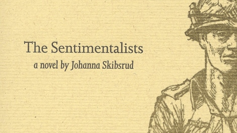 The book 'The Sentimentalists' is seen in this undated handout photo from Gaspereau Press.