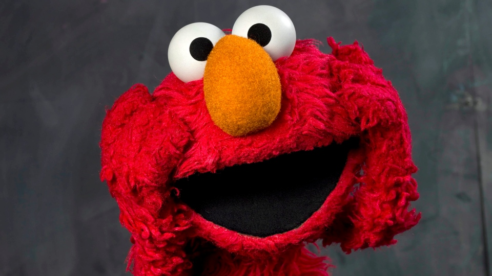 This Jan. 24, 2011 file photo shows 'Sesame Street' muppet Elmo posing for a portrait. (AP Photo/Victoria Will, file)