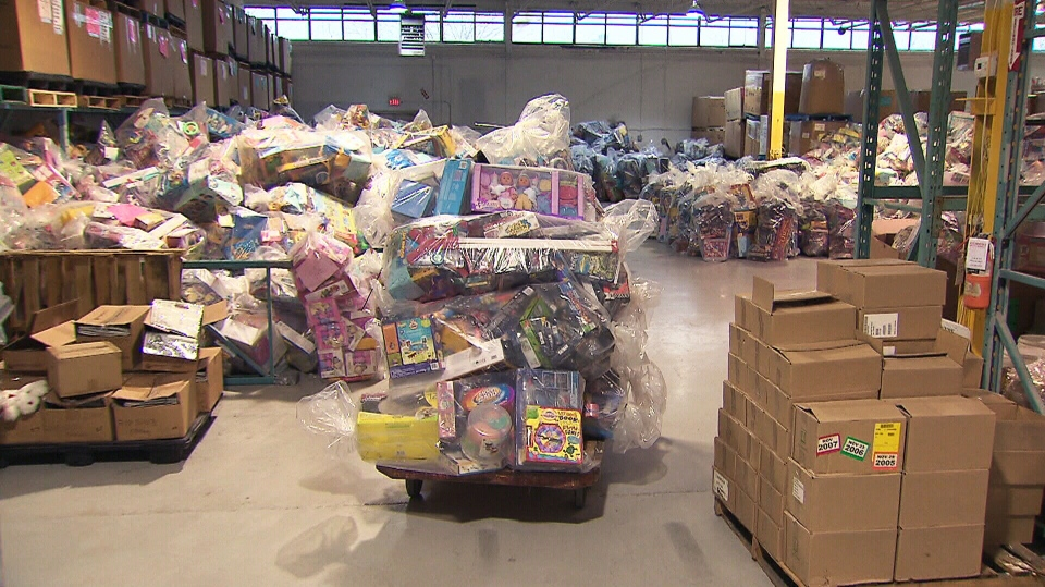 Toronto police have made a second arrest in their investigation into the disappearance of millions of dollars' worth of toys from a Salvation Army warehouse in Toronto.