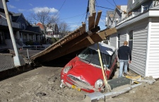 Superstorm Sandy rental cars