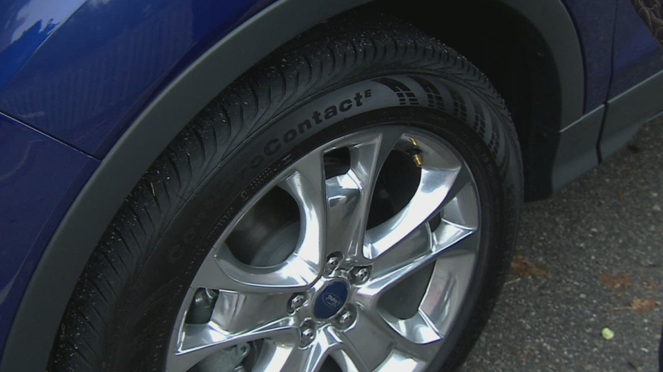Good tire pressure will help ensure a better drive on the road.