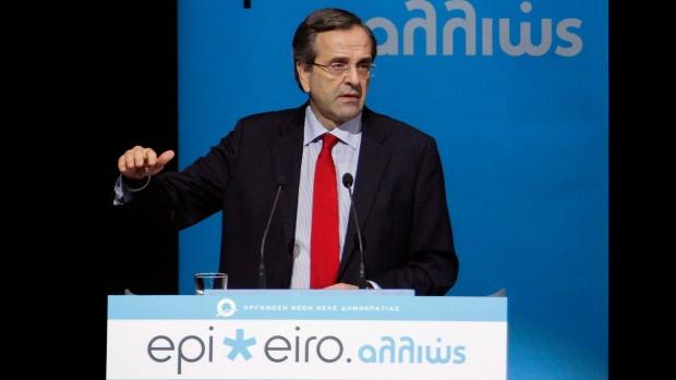 Samaris pushing for Greek loan deal